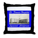 Saint Francis Hospital Throw Pillow