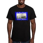 Saint Francis Hospital Men's Fitted T-Shirt (dark)