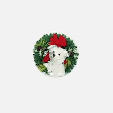 Christmas shopping Mini Button