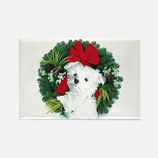 Christmas shopping Rectangle Magnet