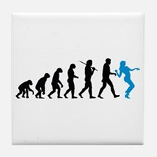 Evolution Girl Tile Coaster