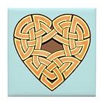 Chonoska Heartknot Tile Coaster