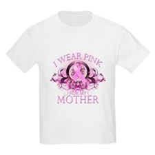 I Wear Pink for my Mother (floral) T-Shirt
