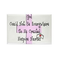More Hospice Nursing Rectangle Magnet
