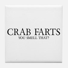Crab Farts Tile Coaster