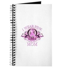 Wear Pink for my Mom (floral) Journal