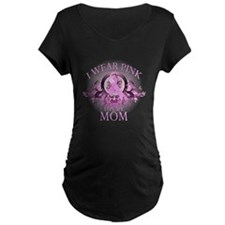 Wear Pink for my Mom (floral) T-Shirt