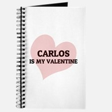 Carlos Is My Valentine Journal