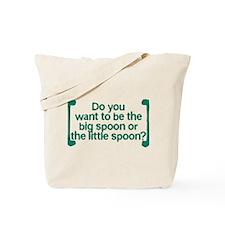 Big Spoon, Little Spoon Tote Bag