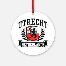 Utrecht Netherlands Ornament (Round)