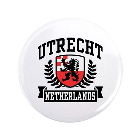 "Utrecht Netherlands 3.5"" Button"