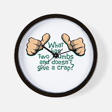Two Thumbs Wall Clock