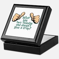 Two Thumbs Keepsake Box