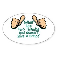 Two Thumbs Decal
