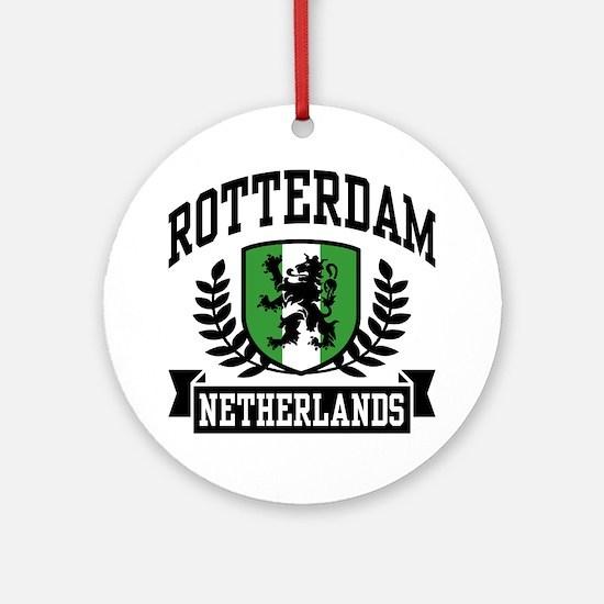 Rotterdam Netherlands Ornament (Round)
