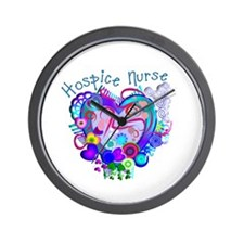More Hospice Nursing Wall Clock