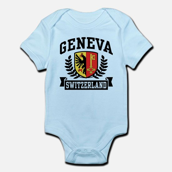 Geneva Switzerland Infant Bodysuit