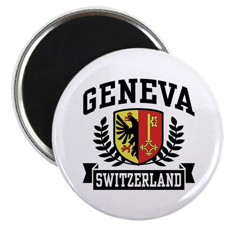 Geneva Switzerland Magnet