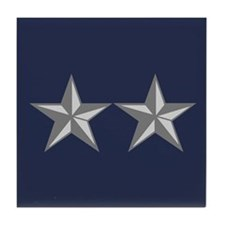 Major General Tile Coaster