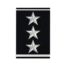 Lieutenant General Rectangle Magnet
