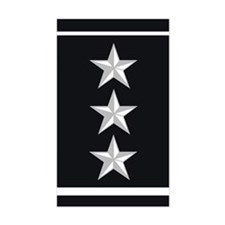 Lieutenant General Decal