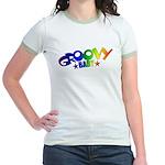 Groovy Baby Retro Jr. Ringer T-Shirt