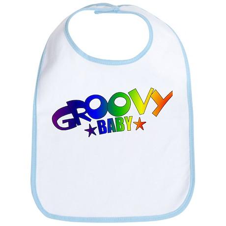 Groovy Baby Retro Bib