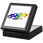 Groovy Baby Retro Keepsake Box