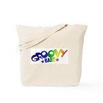 Groovy Baby Retro Tote Bag