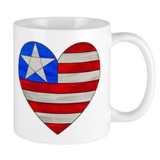 Heart Flag Mug