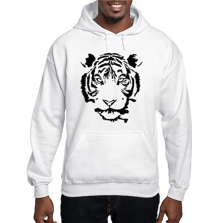 Stalking Tiger Hooded Sweatshirt