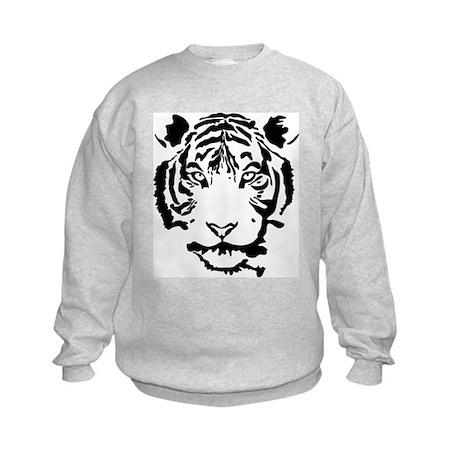 Stalking Tiger Kids Sweatshirt