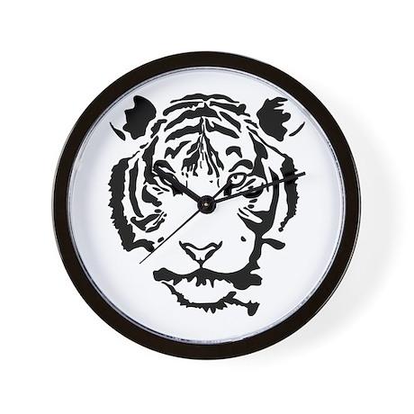 Stalking Tiger Wall Clock