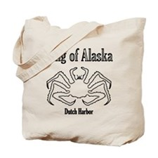 King of Alaska-black outline- Tote Bag