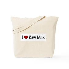 Unique Raw milk Tote Bag