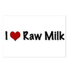 Cute Milking cows Postcards (Package of 8)
