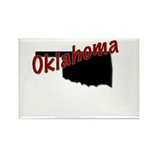 Cute Oklahoma Rectangle Magnet