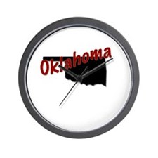 Cute Oklahoma Wall Clock