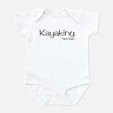 Kayaking. Nuff Said Infant Bodysuit