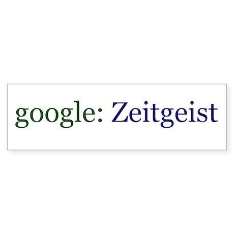 Zeitgeist Sticker (Bumper 10 pack)