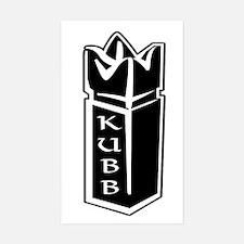 Kubb King Decal