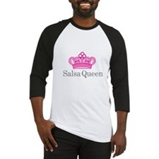 Salsa Queen Baseball Jersey