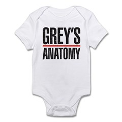 Grey's Faded Infant Bodysuit