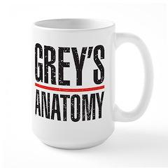 Grey's Faded Large Mug