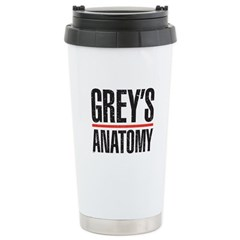 Grey's Faded Stainless Steel Travel Mug