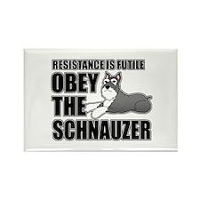 Schnauzer Rectangle Magnet (100 pack)