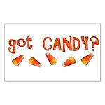 Got Candy? Sticker (Rectangle)