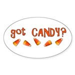 Got Candy? Sticker (Oval)