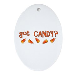 Got Candy? Ornament (Oval)