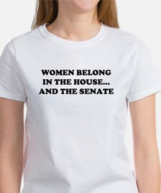 Women Belong in the House Tee